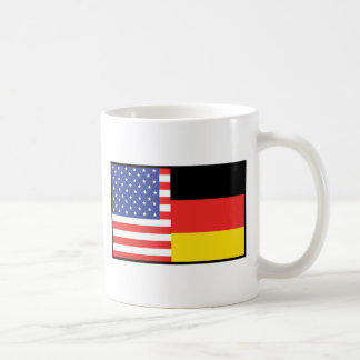 Amerika Deutschland Kaffeetasse
