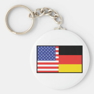 Amerika Deutschland Schlüsselanhänger