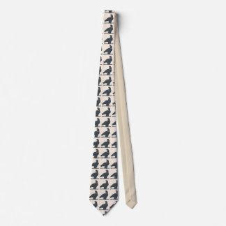 Amerika-Falke, addieren Text Krawatte