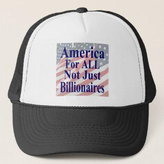 Amerika für ALLE nicht gerade Milliardäre Truckerkappe