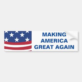 Amerika großen Autoaufkleber wieder machen