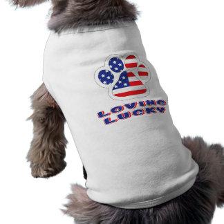Amerika-Hündchen-gewelltes Trägershirt Top