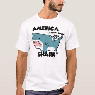 Amerika ist ein Haifisch (oder sehen Sie das neue T-Shirt