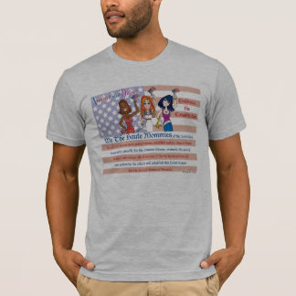 Amerika-Konstitution - AmomricanDivas (TM) E die T T-Shirt