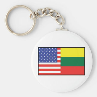 Amerika Litauen Schlüsselanhänger