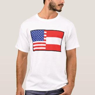Amerika Österreich T-Shirt
