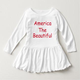 Amerika-Shirt Kleid