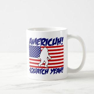 Amerika! Squatch ja! Kaffeetasse