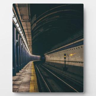 Amerika-Stadt-Manhattan-Metro Ny Nyc New York Fotoplatte