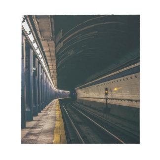 Amerika-Stadt-Manhattan-Metro Ny Nyc New York Notizblock