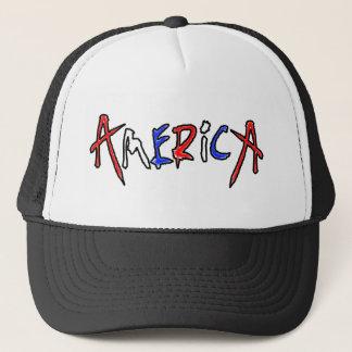 Amerika-Stolz Truckerkappe