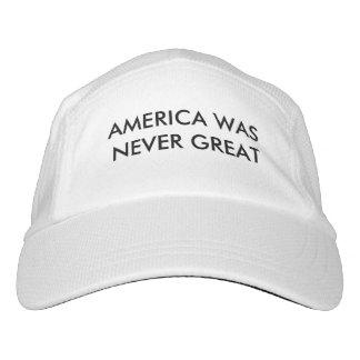Amerika war nie groß headsweats kappe
