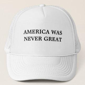 Amerika war nie großer Hut Truckerkappe