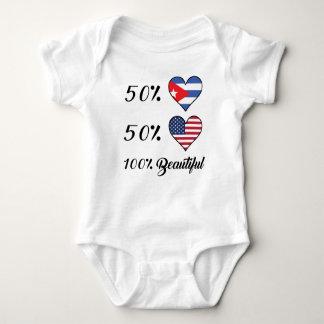 Amerikaner 50% Kubaner-50% 100% schön Baby Strampler