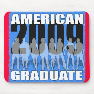 Amerikaner-Absolvent 2009! Mauspads