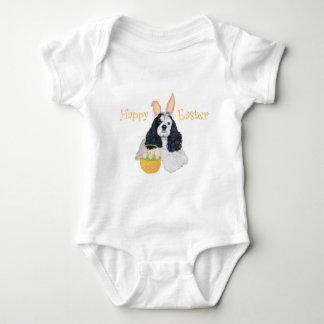 Amerikaner Cocker spaniel Ostern Baby Strampler
