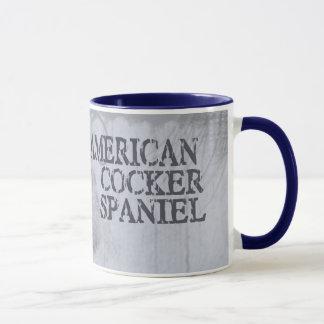 Amerikaner Cocker spaniel Tasse