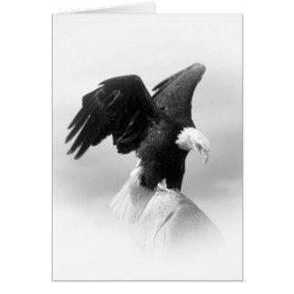 Amerikaner-Eagle-Gruß-Karte Grußkarte