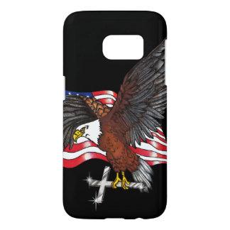 Amerikaner Eagle mit Kreuz