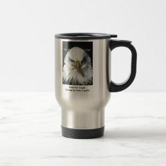 Amerikaner Eagle Reisebecher