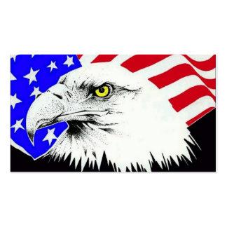 Amerikaner Eagle Visitenkarten