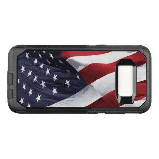 Amerikaner FlagStars und Streifen OtterBox Commuter Samsung Galaxy S8 Hülle