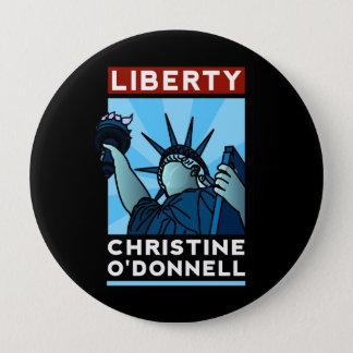 Amerikaner-Freiheit Christine O'Donnell 2010 Runder Button 10,2 Cm