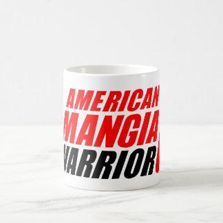 Amerikaner Mangia Krieger-Tasse mit gegabelt Kaffeetasse