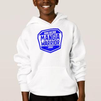 Amerikaner Mangia Kriegers-JugendHoodiejugendlich Hoodie