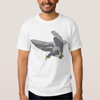 Amerikaner Marsch Falke (Angreifen) Tshirts