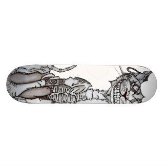 Amerikaner McGee inspirierter Chesire KatzeSkatebo Bedruckte Skateboarddecks