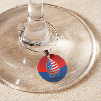 Amerikaner Ostern Weinglas Anhänger