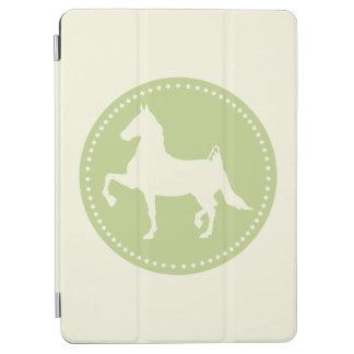 Amerikaner Saddlebred PferdeSilhouette iPad Air Cover