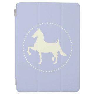 Amerikaner Saddlebred PferdeSilhouette iPad Air Hülle