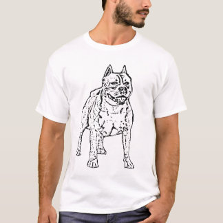 Amerikaner Stoffordshire Terrier-T - Shirt
