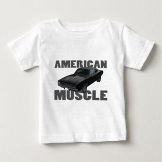 Amerikanermuskel 1968 des Dodgeladegeräts r/t Baby T-shirt