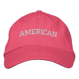 AMERIKANISCH BESTICKTE KAPPE