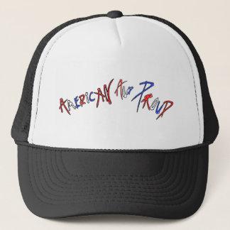 Amerikanisch und stolz truckerkappe