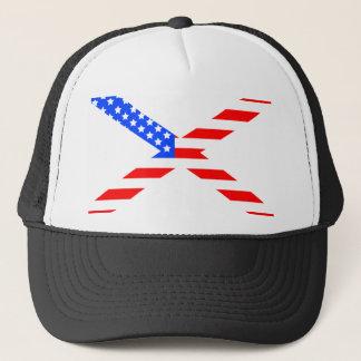 Amerikanisch-x Truckerkappe