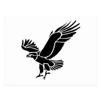 Amerikanische Adler-Silhouette Postkarten