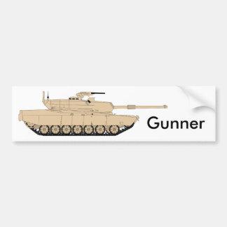 AMERIKANISCHE Armee M1A1 Abrams Autoaufkleber