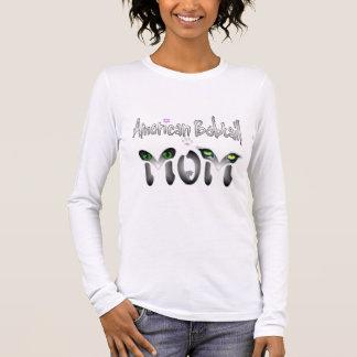 Amerikanische Bobtail Mamma-Geschenke Langarm T-Shirt