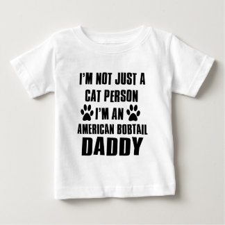 Amerikanische Bobtail Shirtkatze Entwürfe Baby T-shirt