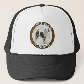 amerikanische Bulldogge Truckerkappe