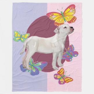Amerikanische Bulldoggen-Fleece-Decke Fleecedecke