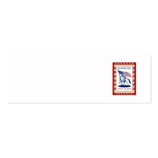 Amerikanische Visitenkarten Vorlage