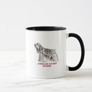 Amerikanische Cockerspaniel-Tasse Tasse