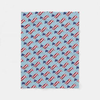 Amerikanische Dackel-Dackel-HundeFleece-Decke Fleecedecke