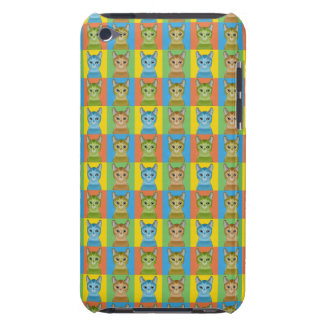 Amerikanische Drahthaarterrier-Katzen-Cartoon iPod Touch Case
