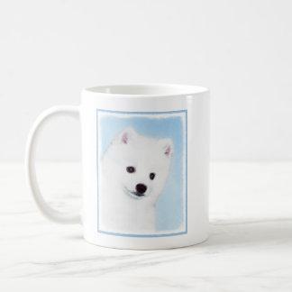 Amerikanische Eskimohundemalerei - niedliche Kaffeetasse
